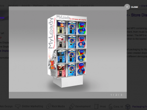 POP MP3 Package Display