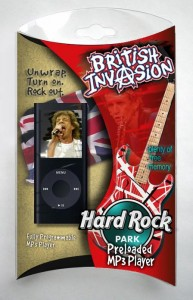 Hard Rock MP3 Package Design
